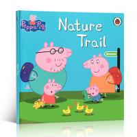 【全店300减100】英文原版书 粉红猪小妹佩奇 Peppa pig: nature trail 学龄前3-5-6-8岁