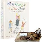 英文原版 We're Going on a Bear Hunt 我们一起去猎熊 立体书 操作书 廖彩杏书单 亲子儿童英