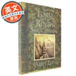 指环王 魔戒 素描设定集 英文原版 The Lord of the Rings Sketchbook 文学插画大师 电