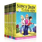 顺丰发货 The Nancy Drew and the Clue Crew 少女妙探 南希朱尔和线索船员第1-10本套