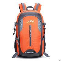 户外登山大容量防水双肩包简约休闲透气反光男女徒步旅行包 可礼品卡支付