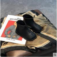 女宝宝靴子新款棉鞋加绒加厚小皮鞋女童小童潮鞋宝宝冬季棉鞋短靴