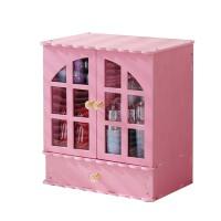 梳妆台化妆品收纳盒置物架大号桌面抽屉式木制收纳柜挂