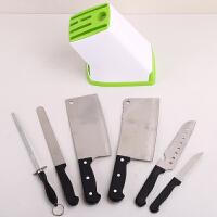 刀架厨房用品多功能创意收纳架塑料刀座水果刀架菜刀架置物架加厚