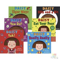 Daisy Picture Books 鬼马精灵小黛西 经典故事绘本 Eat Your Peas 006 and a B