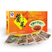 【江苏高邮馆】扬州特产三和四美酱菜120*6袋礼盒下饭小菜咸菜