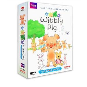 wibbly pig小猪威比dvd儿童早教动画片光盘中英文双语
