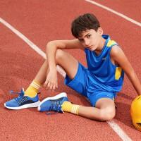 【1件5折到手预估价:65.8】361儿童男大童篮球比赛套装 亲肤吸汗比赛套装两件套N52021412