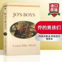 华研原版 乔的男孩们 Jo s Boys 英文原版小说 正版进口英语书籍 全英文版