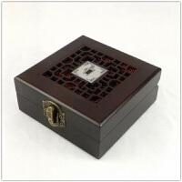文玩盒子 佛珠玉手�C手串手�文玩盒子 手把件文玩核桃菩提木盒
