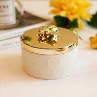 珠宝盒蜜蜂大象情人节首饰盒饰品收纳盒项链米诺造型北欧戒指创意生日礼物结婚复古