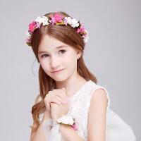 儿童发饰头箍公主花环发箍女童婴儿发带头饰头箍宝宝发卡饰品