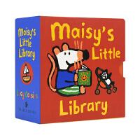【首页抢券300-100】Maisy's Little Library 小鼠波波图书馆 小手翻翻手掌书 启蒙认知 原版英