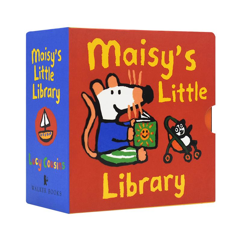 Maisy's Little Library 小鼠波波图书馆 小手翻翻手掌书 启蒙认知 原版英文绘本 儿童英文原版进口图书