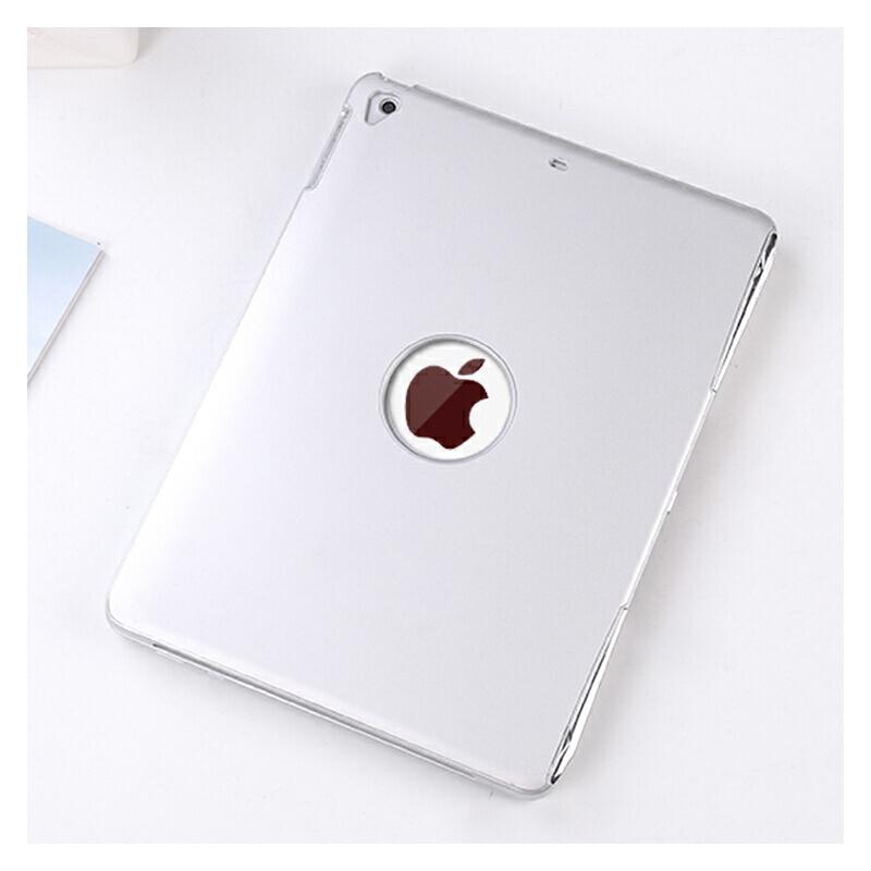 【键盘可拆】苹果ipad键盘2018新款保护套9.7寸Pro网红Air2金属皮套蓝牙平板电脑壳子背光 新iPad/Air2/1/Pro9.7 科技银