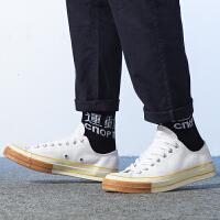 Converse匡威 男鞋 三星标运动休闲鞋低帮帆布鞋 165722