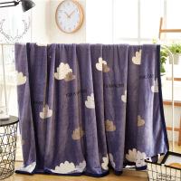 毛毯加厚珊瑚绒毯子床单冬季云貂绒儿童法兰绒盖毯单人法莱绒毯