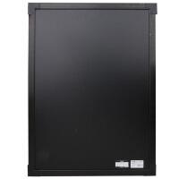 得力8731挂式电子荧光板钢化玻璃荧光黑板广告牌写字板50x70cm