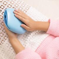 无水安全暖手宝充电可爱电热饼 迷你毛绒暖手器电暖宝无水暖宝宝电热宝
