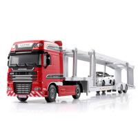1:50凯迪威全合金 运输车拖车工程车模型摆饰玩具滑行儿童玩具