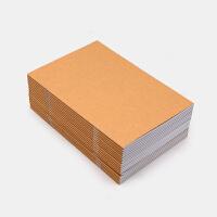 笔记本定制可印logo印刷定做记事本A5薄款订做牛皮纸本子文具学生