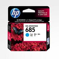 原装惠普/HP 685青色墨盒适用于HP DeskJet 3525/4615/4625/5525