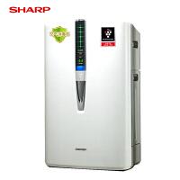 夏普/SHARP空气净化器家用氧吧加湿除甲醛PM2.5净烟除尘雾霾KC-W380SW-W