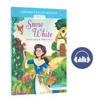 Usborne English Readers Level 1 Snow White 英语小读者系列 白雪公主 长篇童