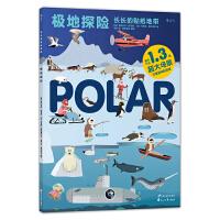 长长的贴纸地带:极地探险Stickyscapes : Polar