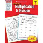 【预订】Scholastic Success with Multiplication & Division, Grad