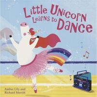 Little Unicorn Learns to Dance 小独角兽学跳舞 图画故事书 自信勇敢 幼儿启蒙 仙子 美人