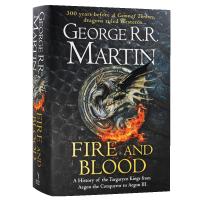 冰与火之歌前传火与血 英文原版小说 Fire and Blood 权力的游戏300年前的故事Game of Throne