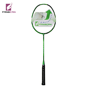 FANGCAN  17年新款 全碳素羽毛球拍 单打神器 破风框 训练羽拍