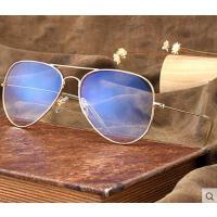 变色防蓝光眼镜男防辐射 户外新款大框电脑护目镜女蛤蟆镜墨镜 韩版时尚平面平光镜