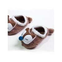 宝宝地板袜可爱防滑婴儿袜新生儿0-1-3岁羽毛纱袜套
