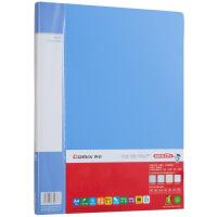 齐心(Comix) PF40AK 40页资料册/A4文件册/文件夹 蓝色