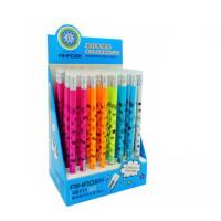 爱好48711摩易擦中性笔 晶蓝色热可擦水笔 磨磨擦小学生写字笔