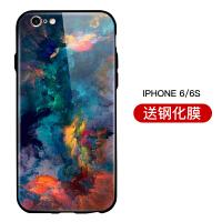 苹果x手机壳6splus时尚iPhonexs潮牌6plus78防摔全包xmax玻璃8plus中国风x