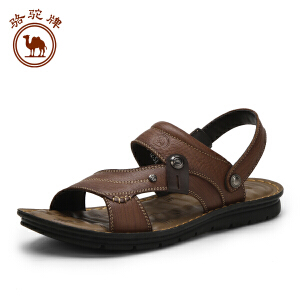 骆驼牌男鞋 春夏新品时尚凉拖两用鞋露趾沙滩鞋耐磨