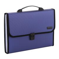 晨光商务风琴包 手提分格文件袋 A4收纳袋 学生试卷袋 AWT90959 单个颜色随机