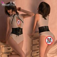 【支持礼品卡支付】霏慕 情趣内衣服女 性感蕾丝护士制服套装 情趣成人性用品
