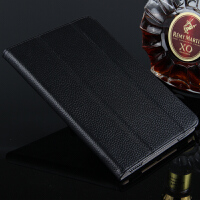 苹果iPad Pro皮套 真皮保护套12.9寸平板电脑Pro支撑包壳 爵士黑【头层牛皮】