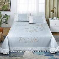 冰丝凉席三件套1.8m床可水洗可折叠夏季1.5草席空调软席子床单