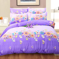 20191106211122348纯棉四件套 磨毛保暖床上用品 单式床上四件套2.0*2.3 被套 200*230 床