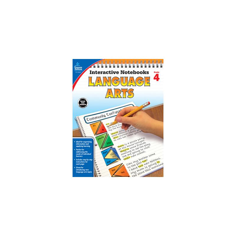 【预订】Language Arts, Grade 4 预订商品,需要1-3个月发货,非质量问题不接受退换货。