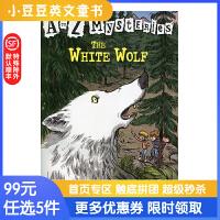 进口英文原版The White Wolf A to Z 神秘案件 #23 神秘的白狼【6-12岁】
