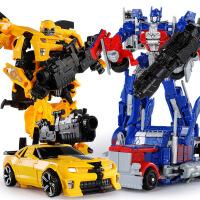 变形玩具金刚大黄蜂汽车机器人手办男孩儿童模型恐龙合金 生日礼物六一圣诞节新年礼品