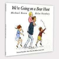英文原版童书 进口绘本 We're Going on a Bear Hunt 我们一起去猎熊 全彩平装 廖彩杏书单 4