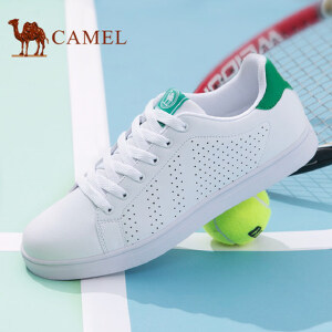 骆驼牌男鞋 2017夏季运动休闲鞋透气板鞋男女小白鞋情侣鞋