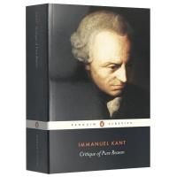 正版现货 纯粹理性批判 英文原版哲学书籍 Critique of Pure Reason 康德哲学巨著三部曲系列 Pe